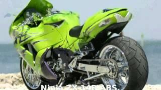 1. 2014 Kawasaki Ninja ZX-14 -  Transmission superbike