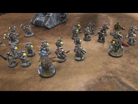 lists - Dave showcases two 1500 pt lists he's bringing to Valhalla. Leave a comment and let him know what you think.