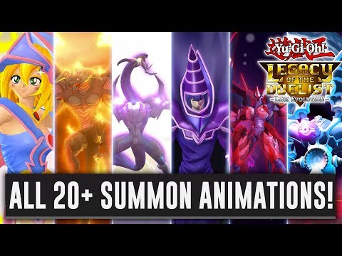 Yu-Gi-Oh! Legacy Of The Duelist: Link Evolution ALL Monster Summoning Animations! 1080p 60FPS