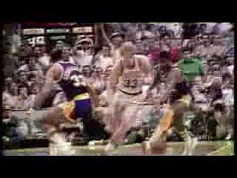 Larry Bird Dunks in Game 7 NBA Finals