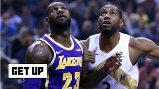 Video Kawhi is in play for the Lakers after the Anthony Davis trade - Damon Jones | Get Up MP3, 3GP, MP4, WEBM, AVI, FLV Juni 2019