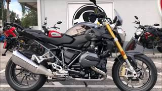 10. 2018 BMW R 1200 R in Espresso Metallic at Euro Cycles of Tampa Bay