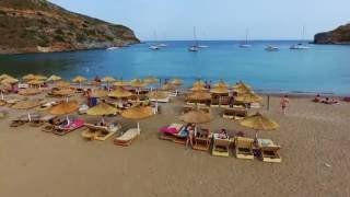 Kea Greece  city photos gallery : KEA ISLAND GREECE SPATHI BEACH 4K - DJI PHANTOM4 OSMO & GOPRO HERO 4