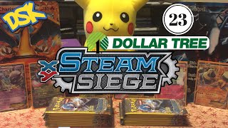 Did we get hit with Weighed Packs in my 1st Dollar Tree Steam Siege Opening by Demon SnowKing