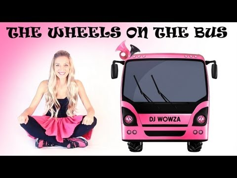 Big Wheel vs Bus - The Wheels on the Bus - Pink Bus. Nursery rhyme for children. Google+: https://plus.google.com/+DJWowza/posts Facebook: https://www.facebook.com/DJWowzaKidsZ...