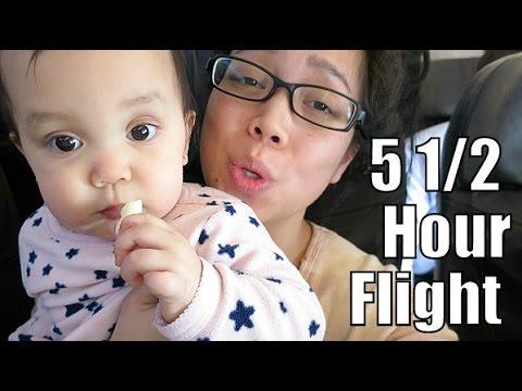 Long Flight Back Home – February 28, 2015 –  ItsJudysLife Vlogs