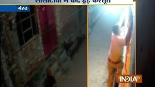 Meerut India  city pictures gallery : Caught on Camera: Police Constable Caught Stealing CFL Bulb in Meerut - India TV