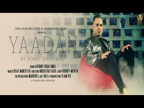 Video Yadaan ● Benny Dhaliwal Feat. Beat Minister ● New Punjabi Songs 2016 ● Panj-aab Records download in MP3, 3GP, MP4, WEBM, AVI, FLV January 2017