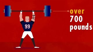 Every NFL fan knows how great J.J. Watt is on the field of play, but few really understand how ridiculous athletic he is and what it takes for him to maintain his ...