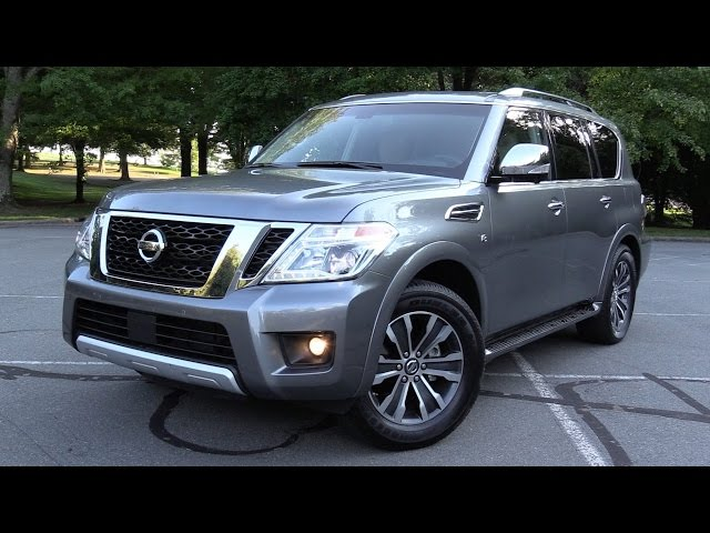 2017 nissan armada sl 4wd test drive review. Black Bedroom Furniture Sets. Home Design Ideas