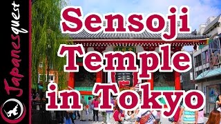 Asakura Japan  city images : Sensoji Temple in Asakura Tour! - Video Japan Guide