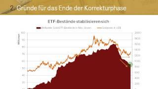 Ende der Goldpreis-Korrektur: Impulse für 2014