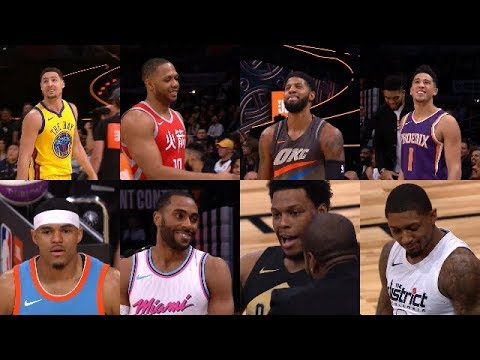 2018 NBA All-Star JBL 3-Point Contest First Round Full Highlights | Feb 17, 2018