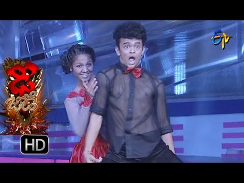 Sanketh And Priyanka Performance – Dhee Jodi - 17th August  2016 – ETV Telugu
