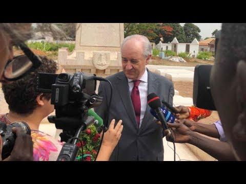Declarações à imprensa de Rui Rio em visita à Guiné-Bissau