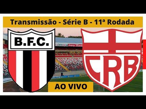 Transmissão Botaofogo-SP x CRB - Série B