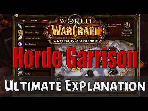 garrison - Here is an explanation video on all of the buildings that are here, click the times below for certain buildings: - Large - 1.Barracks - 1:56 2.Goblin Worksho...