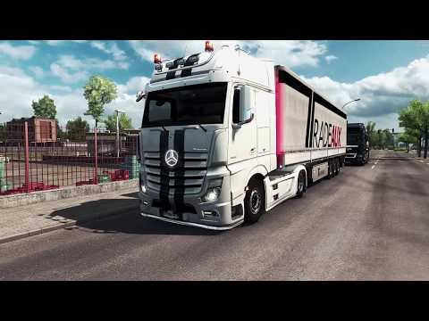 New Actros Plastic Parts & more