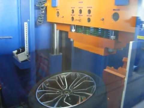 Проверка прочности литых дисков WSP Italy W671 VENUS X1 на удар спицы (БМВ)