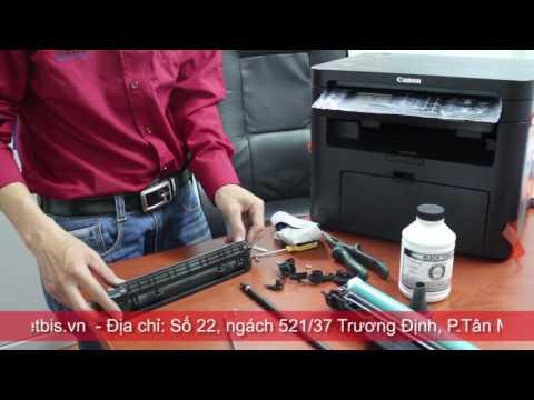 Video hướng dẫn đổ mực cartridge mực 337 bằng mực đổ 337