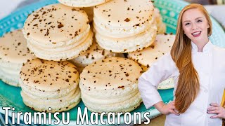 Tiramisu Macarons by Tatyana's Everyday Food