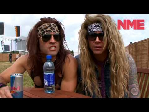 Steel Panther At Download 2010