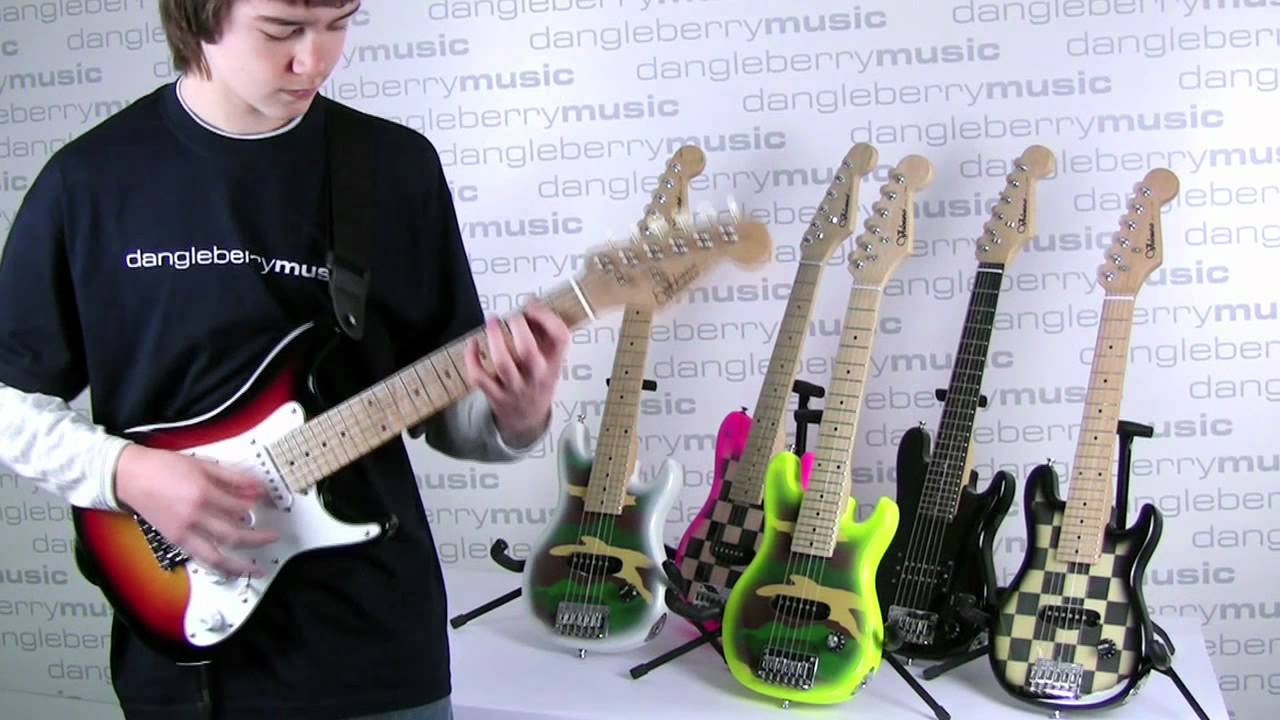 1 2 size electric guitar