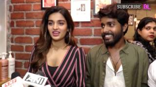 Munna Michael stars Nidhhi Agerwal and Tiger Shroff at the launch of a salon