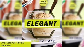 Photoshop Tutorial  Ice Cream (Food) Flyer DesignHow to create food flyer design.Ice Cream restaurant flyer design.Easy steps...Credit this piece by copying the following to your credits section:Easy Lemon Kevin MacLeod (incompetech.com)Licensed under Creative Commons: By Attribution 3.0 Licensehttp://creativecommons.org/licenses/by/3.0/