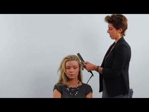 How to Create Glam Look with Flat Iron | Cute Hairstyles