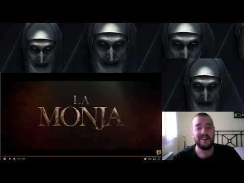 La monja(the nun)-trailer reacción-spin-off universo conjuring(expediente Warren)