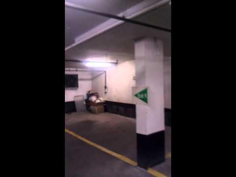 Motion Sensor Zones in Parking Garage