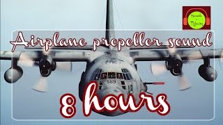 Video 🎧 Airplane propeller sound for relaxing and sleeping - 8 hours - white noise MP3, 3GP, MP4, WEBM, AVI, FLV Juni 2018