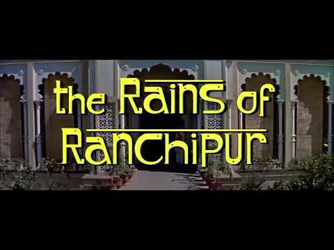 The Rains Of Ranchipur 1955 title sequence
