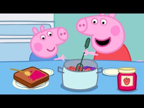 Peppa Pig App | Seasons Gameplay - Cooking Game For Kids | Game For Kids