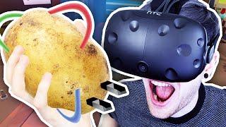 POTATO POWERED VR CARS?! | Job Simulator