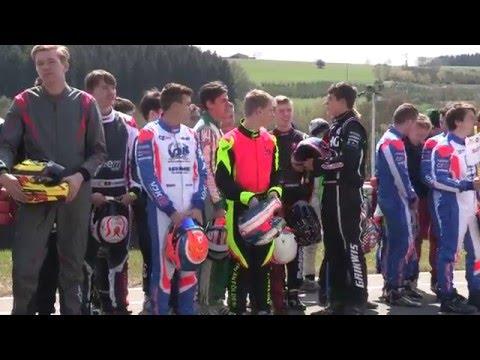 vidéo de la deuxième manche du championnat de Belgique spafrancorchamps