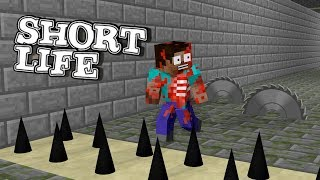 Video Monster School: SHORT LIFE CHALLENGE - Minecraft Animation MP3, 3GP, MP4, WEBM, AVI, FLV Februari 2019