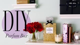 DIY Chanel No 5 Perfume Bottle Room Decoration | ANNEORSHINE - YouTube