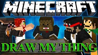 I'VE CREATED A MONSTER Draw My Thing Minigame w/ Antvenom and Vaecon