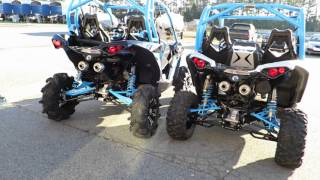 7. 2016 Can Am Maverick xMR Blue Review For Sale Lake Norman Powersports
