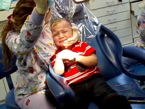 dentist - http://www.aventurapediatricdentistry.com Adrian was a little