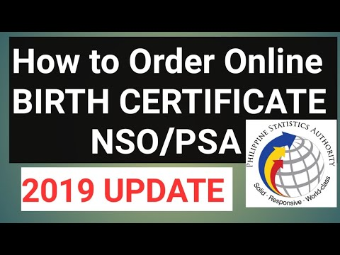 PAANO KUMUHA NG BIRTH CERTIFICATE/NSO/PSA ONLINE | STEP BY STEP GUIDE 2020