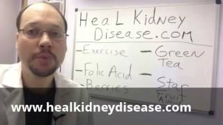 http://www.http://www.healkidneydisease.com How To Stop Kidney Failure. Our kidneys are responsible for getting rid of many toxins in our bodies and ...
