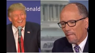 COMPLETELY BROKE! TRUMP TOOK ONE LOOK AT THE DNC'S DEBT AND BURST OUT LAUGHING!