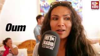 INTERVIEW D'OUM AU FESTIVAL GNAOUA ET MUSIQUE DU MONDE AVEC HIT RADIO - 22 JUIN 2013