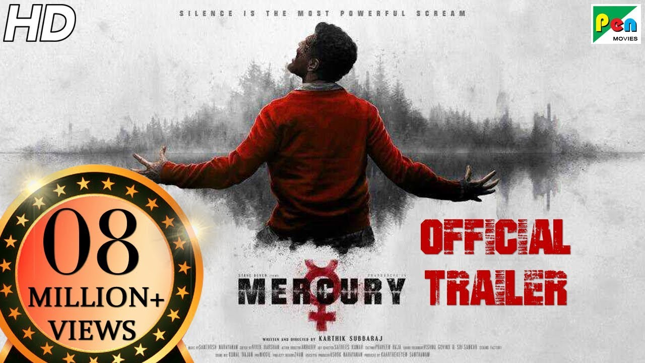 Mercury | Official Trailer | Prabhu Deva | Karthik Subbaraj | Pen Movies | In Cinemas April 13th