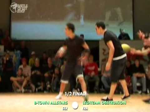 BOE'07 B Town Allstars vs Legiteam Obstruxion 1/2 final PART 2