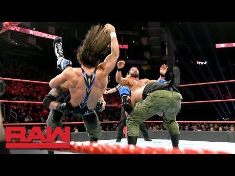 Chad Gable & Bobby Roode vs. AOP & Drake Maverick - 2-on-3 Handicap Match: Raw, Dec. 3, 2018