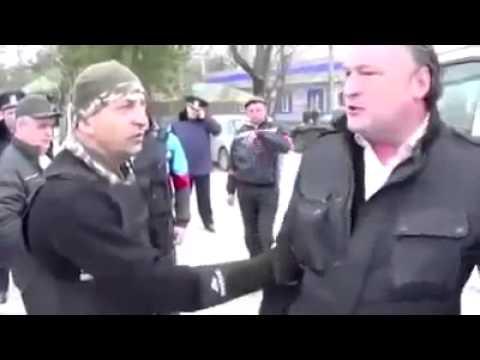 Русский Армянин против Бандеровца Крым Украина (видео)